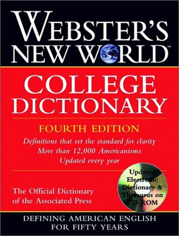 9780764564901: Webster's New World College Dictionary [With CDROM]