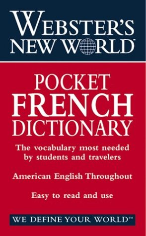 9780764565441: Webster's New World Pocket French Dictionary: English-French French-English