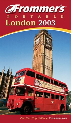 9780764566943: Frommer's Portable London 2003