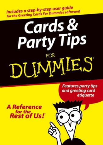 Cards and Party Tips for Dummies (Features: Wiley