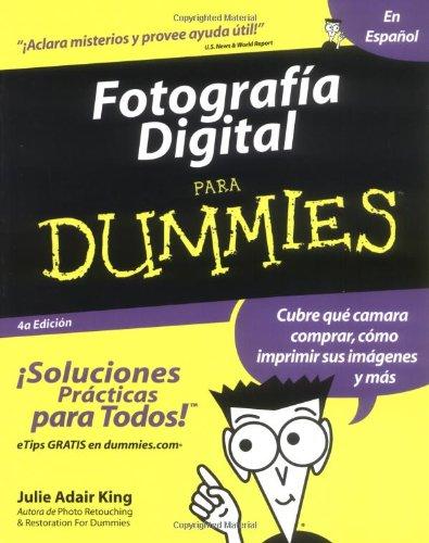9780764568183: Fotografia Digital Para Dummies (Spanish Edition)