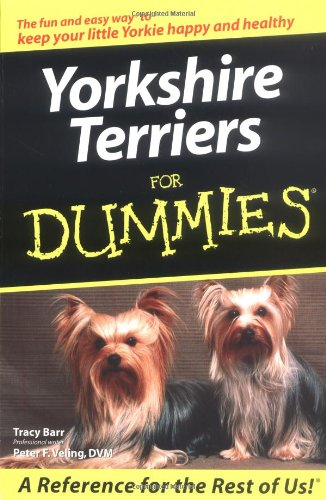 9780764568800: Yorkshire Terriers for Dummies