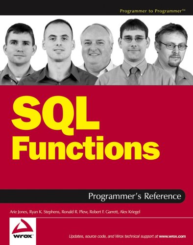 9780764569012: SQL Functions Programmer's Reference (Programmer to Programmer)