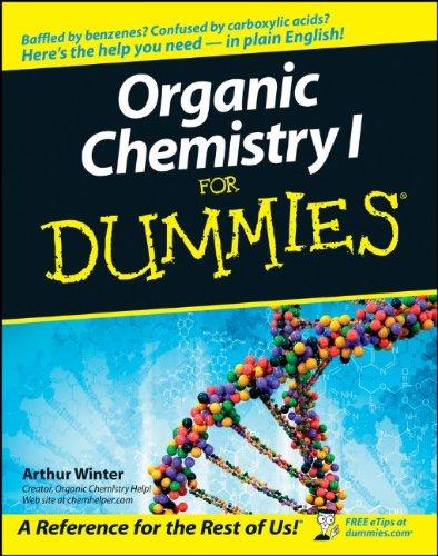 9780764569029: Organic Chemistry I For Dummies