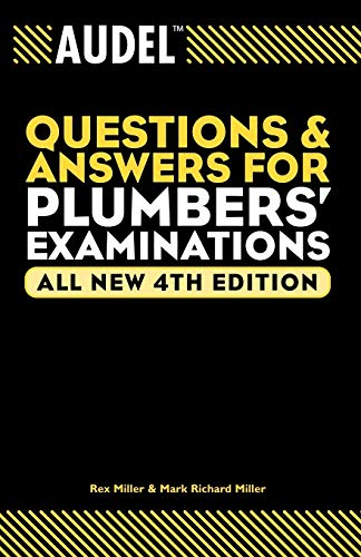 9780764569982: Audel Questions and Answers for Plumbers' Examinations