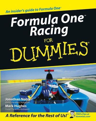 9780764570155: Formula One Racing for Dummies