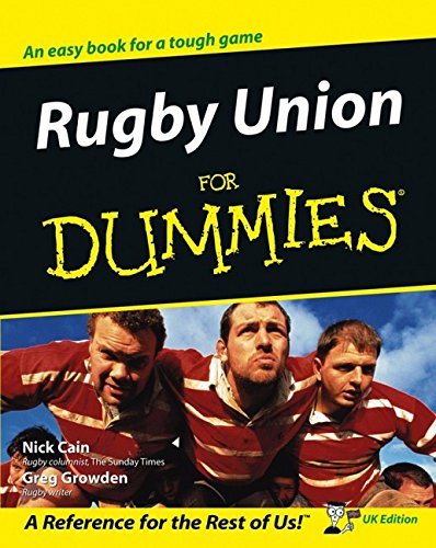 9780764570209: Rugby Union for Dummies: UK Edition