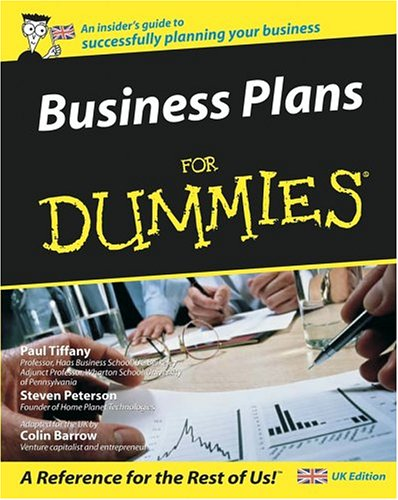 9780764570261: Business Plans for Dummies