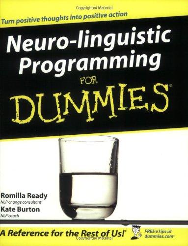 9780764570285: Neuro-linguistic Programming for Dummies