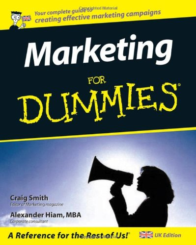 9780764570568: Marketing For Dummies