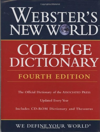 9780764571251: Webster's New World College Dictionary, 4th Edition (Thumb-Indexed and includes CD-ROM Dictionary and Thesaurus)