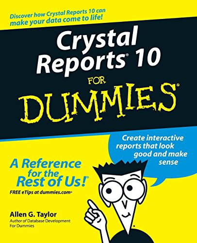 9780764571374: Crystal Reports 10 for Dummies