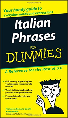 9780764572036: Italian Phrases For Dummies
