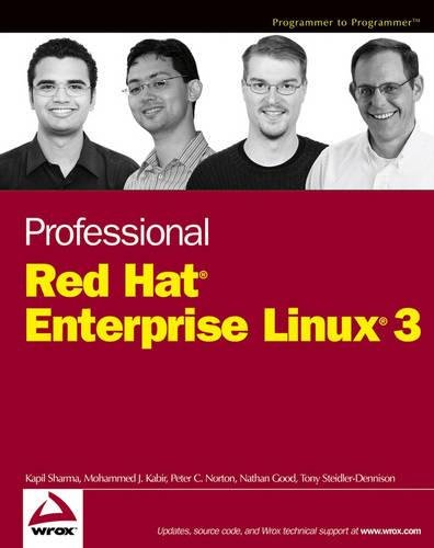 Professional Red Hat Enterprise Linux 3 (Wrox: Kapil Sharma; Mohammed