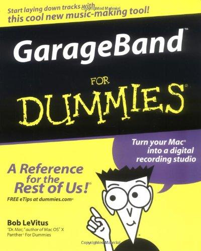 9780764573231: GarageBand For Dummies
