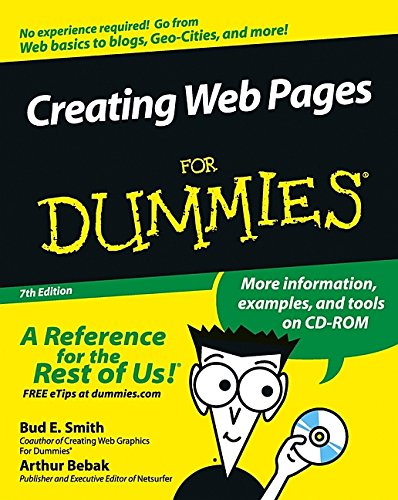 9780764573279: Creating Web Pages For Dummies (For Dummies (Computers))