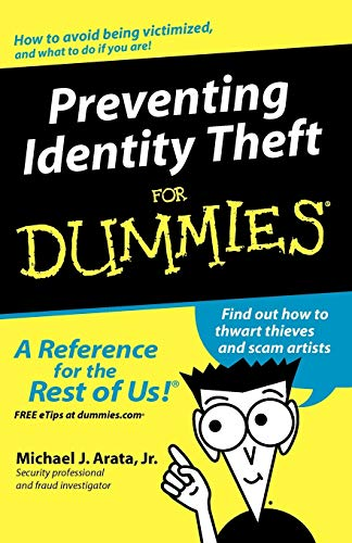 9780764573361: Preventing Identity Theft For Dummies