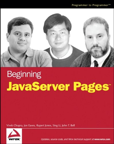 9780764574856: Beginning JavaServer Pages