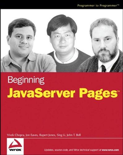 9780764574856: Beginning JavaServer Pages