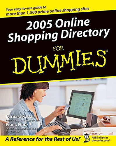 9780764574955: 2005 Online Shopping Directory For Dummies (For Dummies (Computers))