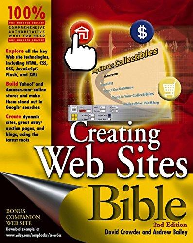 9780764574986: Creating Web Sites Bible