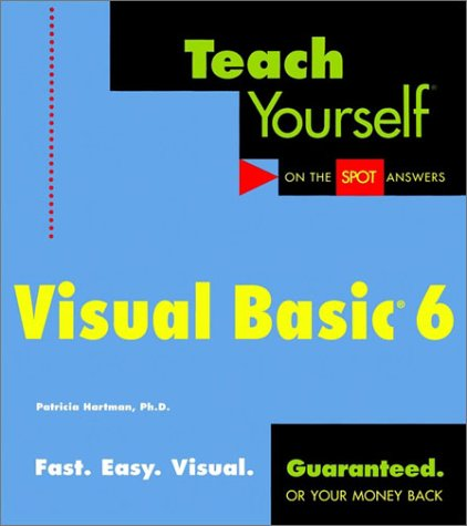 9780764575167: Teach Yourself Visual Basic 6 (Teach Yourself (IDG))