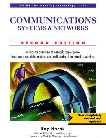 9780764575228: Communications Systems and Networks (M & T Networking Technology)