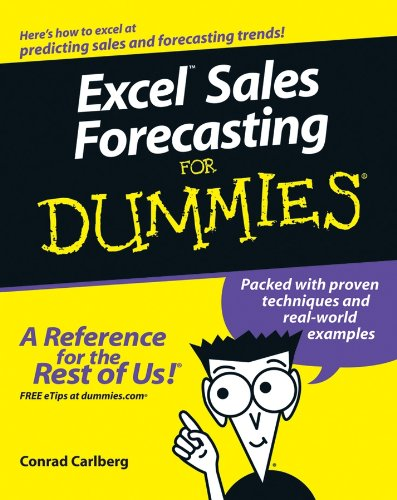 9780764575938: Excel Sales Forecast For Dummies