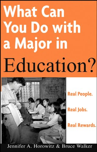 9780764576072: What Can You Do with a Major in Education?