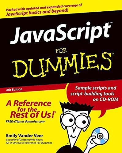 9780764576591: JavaScript For Dummies