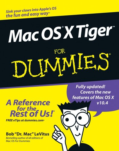 9780764576751: Mac OS X Tiger For Dummies