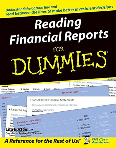 9780764577338: Reading Financial Reports For Dummies (For Dummies (Lifestyles Paperback))