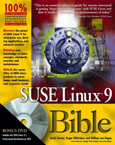 SUSE Linux 9 Bible: Justin Davies, Roger