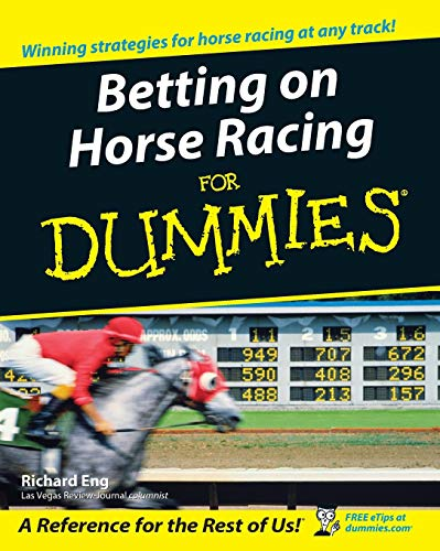 9780764578403: Betting Horse Racing for Dummies