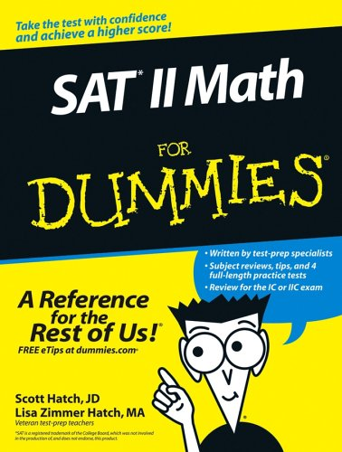 9780764578441: SAT II Math For Dummies