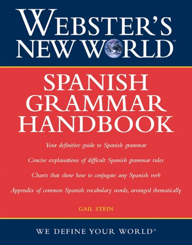 9780764578977: Webster's New World Spanish Grammar Handbook