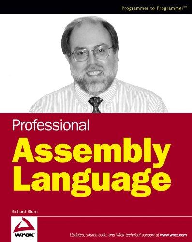 9780764579011: Professional Assembly Language