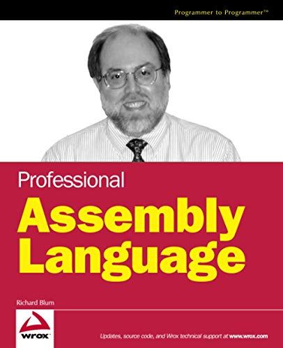 9780764579011: Professional Assembly Language