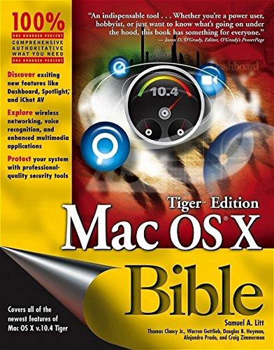 9780764579172: Mac OS X Bible