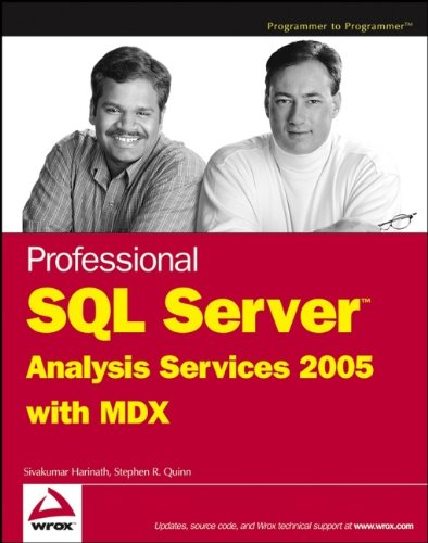 9780764579189: Professional SQL Server Analysis Services 2005 with MDX