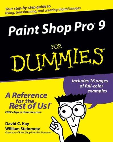 9780764579356: Paint Shop Pro 9 For Dummies