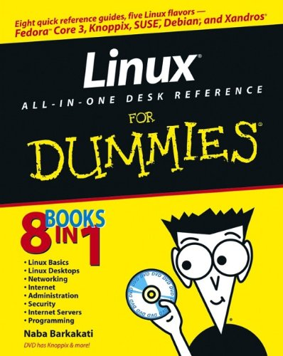 9780764579363: Linux All-in-One Desk Reference For Dummies (For Dummies (Computers))