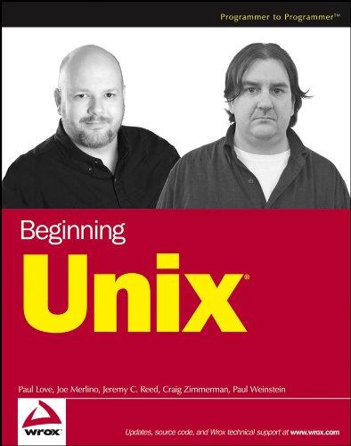 9780764579943: Beginning Unix