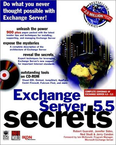 9780764580185: Exchange Server 5.5 Secrets?