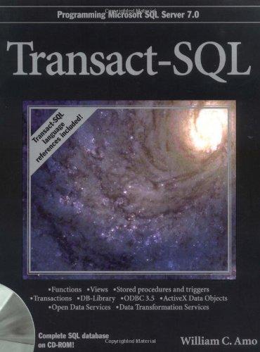 9780764580482: Transact-SQL