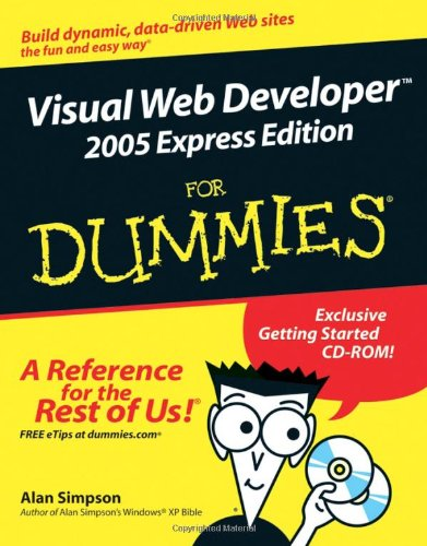9780764583605: Visual Web Developer 2005 Express Edition For Dummies (For Dummies (Computers))