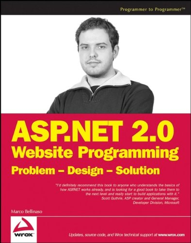 9780764584640: ASP.NET 2.0 Website Programming: Problem, Design, Solution (Computing)