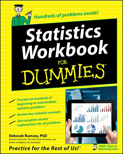 9780764584664: Statistics Workbook For Dummies