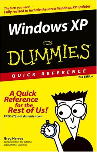 9780764584800: Windows XP for Dummies Quick Reference