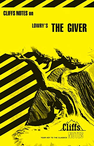 9780764585104: CliffsNotes on Lowry's The Giver (Cliffsnotes Literature Guides)